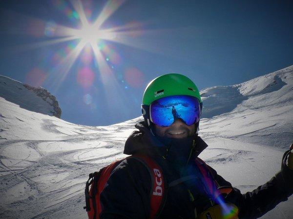 Presentation Photo Ski instructor Livio Sadoch