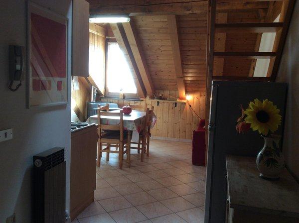 Photo of the kitchen wooden attic Titti