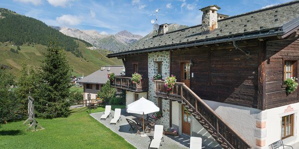 Photo exteriors in summer Chalet Sonne