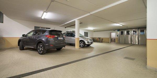Il parcheggio Appartamenti Chalet Sonne
