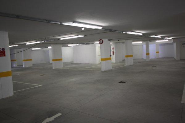 Il parcheggio Appartamenti Chalet Falorie