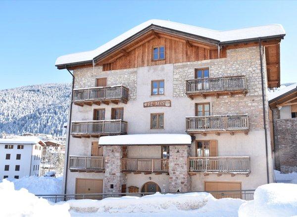 Foto invernale di presentazione Appartamento Residenza El Mas