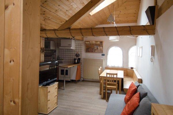 The living area Vanzetta Francesca - Apartment 3 gentians