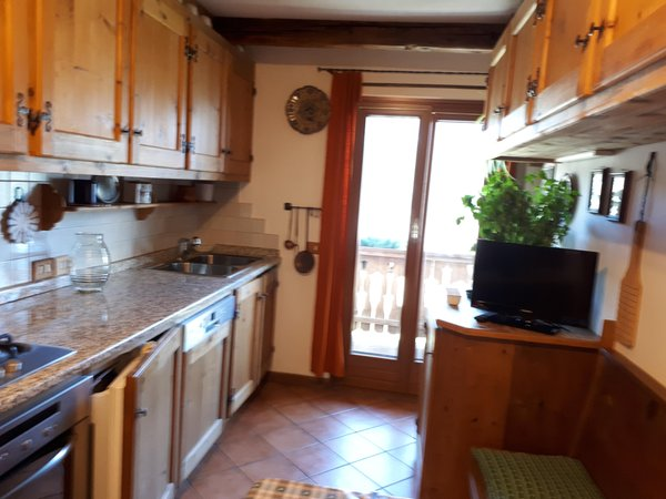 Foto della cucina Suite Gilardon - Tofana