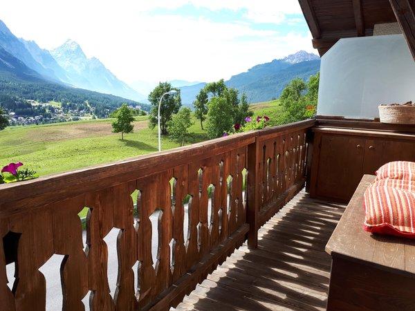 Foto del balcone Suite Gilardon - Tofana