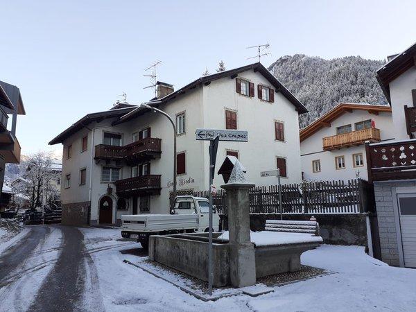 Winter Präsentationsbild Ferienwohnungen Ciasa Micelin