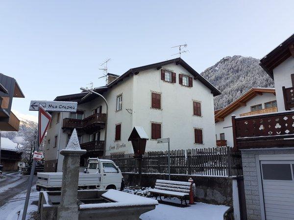 Photo exteriors in winter Ciasa Micelin
