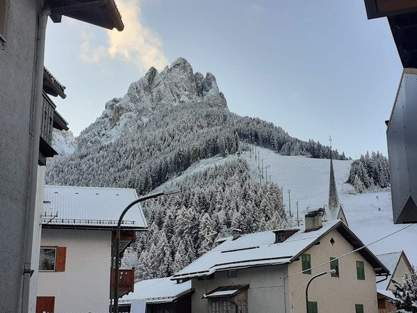 Foto Außenansicht im Winter Ciasa Micelin