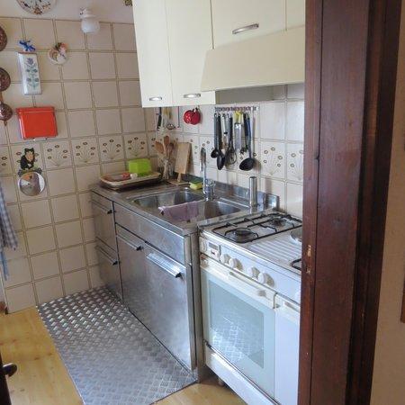 Foto della cucina Villa Gobbo