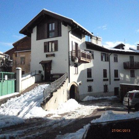 Foto invernale di presentazione Villa Gobbo - Appartamento