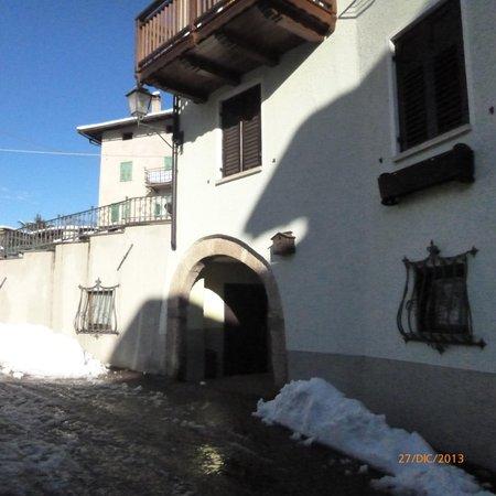 Foto esterno in inverno Villa Gobbo