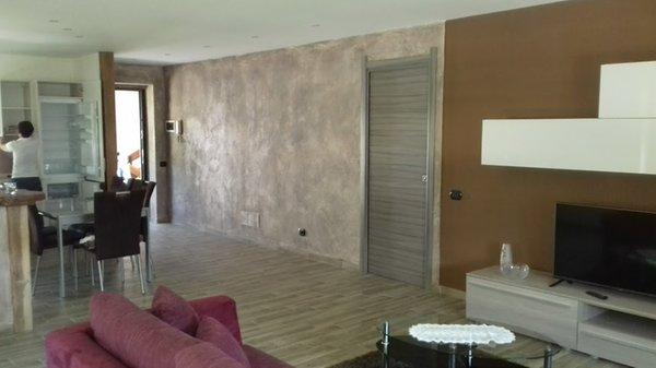 Der Wohnraum Ferienwohnung Casa Clou