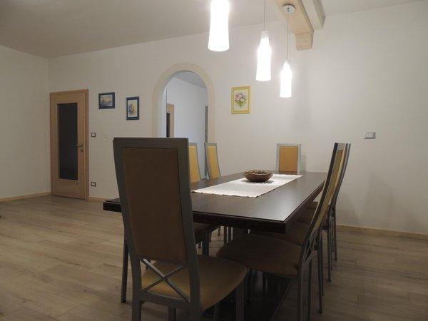 Der Wohnraum Ferienwohnung Casa Fia