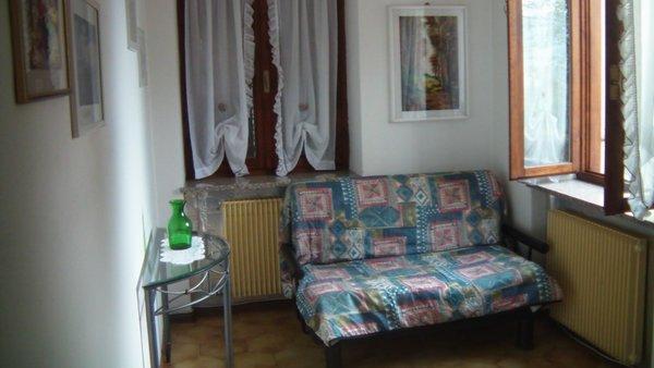La zona giorno Corrà Renzo - Appartamenti 2 fiori