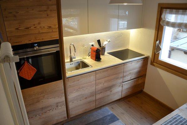 Foto della cucina Casa Al Rin