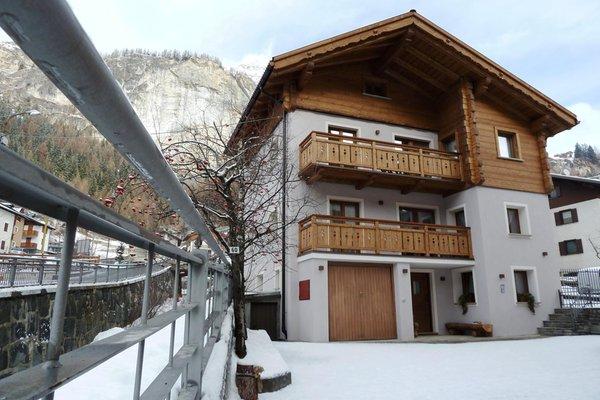 Foto invernale di presentazione Casa Al Rin