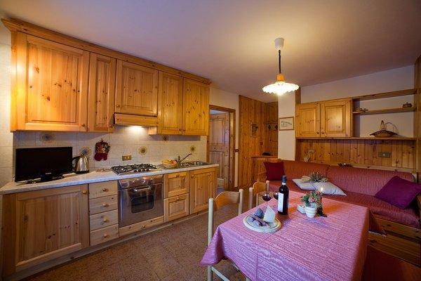 Foto der Küche Chalet Bucaneve