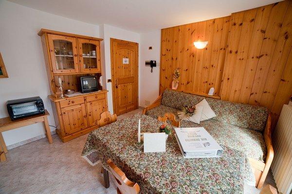 Der Wohnraum Residence Chalet Bucaneve