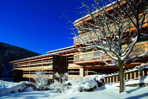 Foto invernale di presentazione Residence Lagació mountain residence