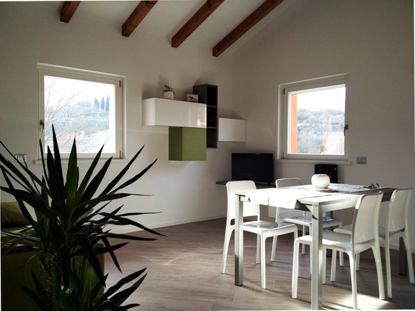 La zona giorno Appartamento Casa Flavia