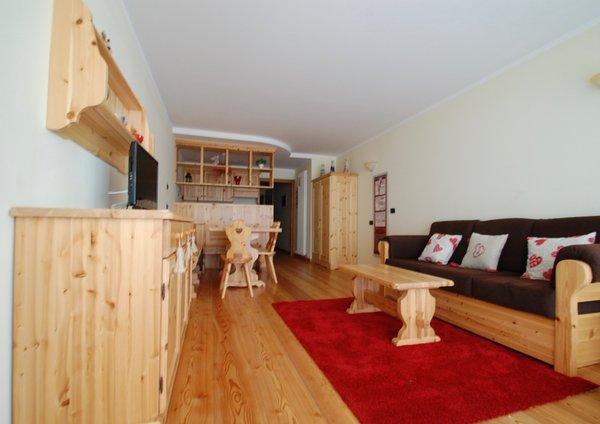 Der Wohnraum Ferienwohnung Mancini Mario - condominio Le Nasse