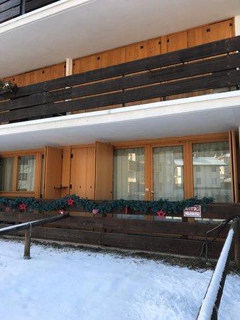 Foto esterno in inverno Mancini Mario - condominio Le Nasse