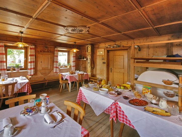 La colazione Chalet Schmied - B&B + Appartamenti 3 stelle sup.