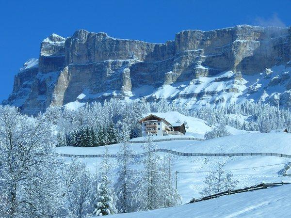 Lage Ferienwohnungen auf dem Bauernhof Lüch Rinna San Cassiano