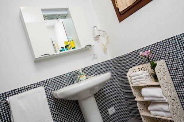 Photo of the bathroom Residence La Rosa delle Dolomiti