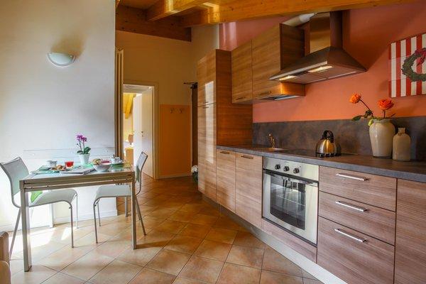 Photo of the kitchen La Rosa delle Dolomiti