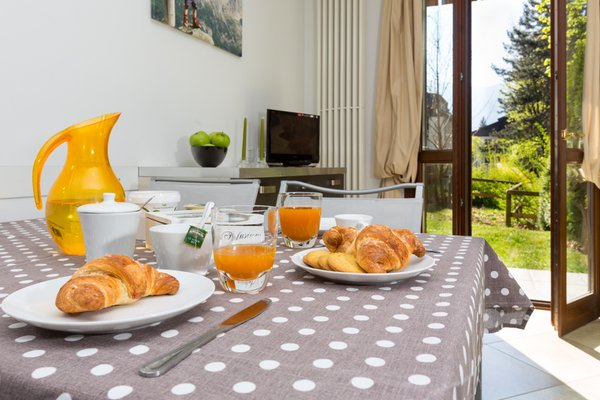 The breakfast Residence La Rosa delle Dolomiti