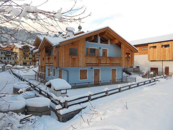 Foto invernale di presentazione Vian Elisabetta - Appartamenti 4 genziane