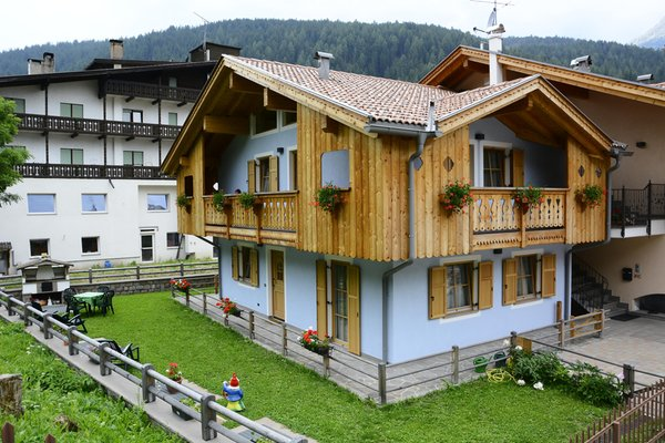 Foto estiva di presentazione Vian Elisabetta - Appartamenti 4 genziane