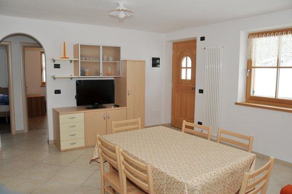 La zona giorno Vian Elisabetta - Appartamenti 4 genziane