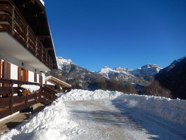 Foto invernale di presentazione Chalet Relax - Appartamento