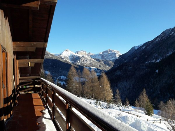Photo of the balcony Chalet Relax