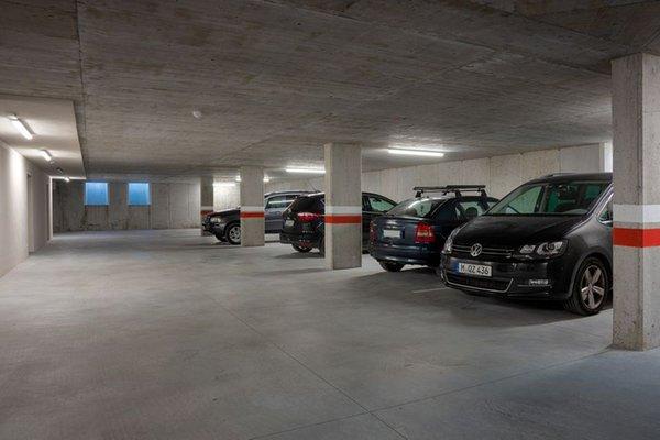 Il parcheggio Residence Lex