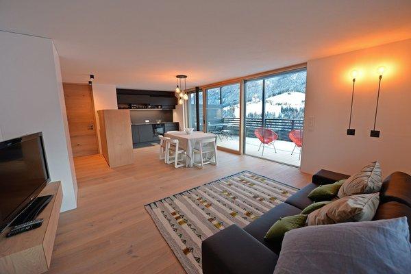 La zona giorno Appartamento Villa Mayr