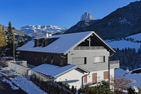 Foto invernale di presentazione Appartamento Villa Mayr
