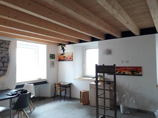 La zona giorno Vecchiascuola - B&B + Appartamenti 3 stelle