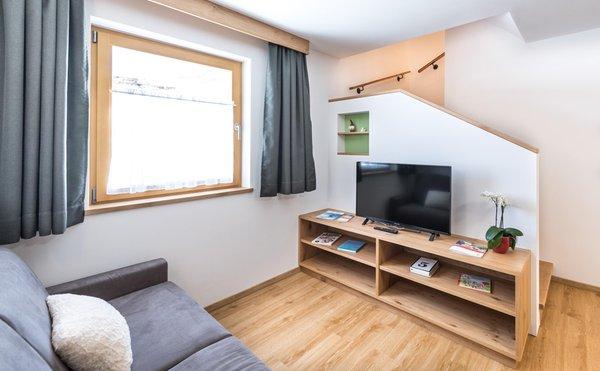La zona giorno Putzerhof - Appartamenti in agriturismo