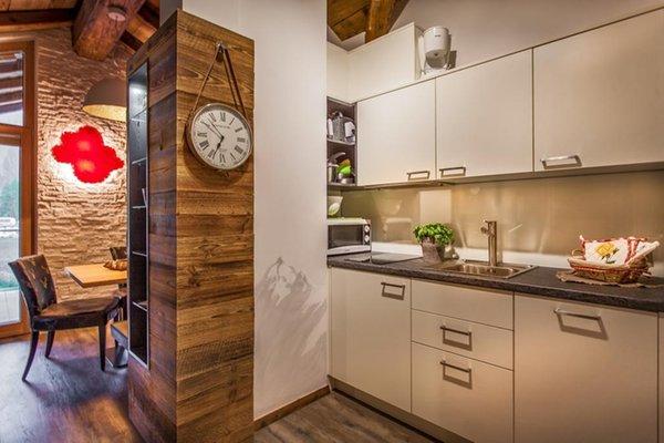 Foto della cucina Chalet La Tradiziun