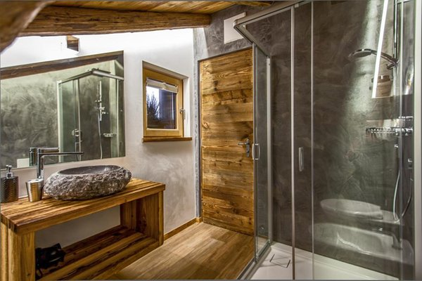 Foto del bagno Appartamenti Chalet La Tradiziun