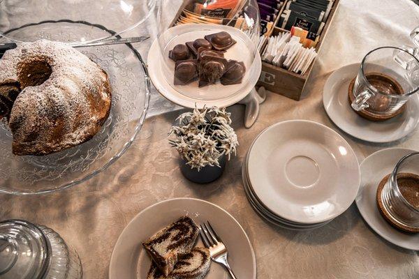 Das Frühstück Bed & Breakfast Ciasa Dorigo
