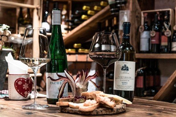 Wine cellar Colfosco Ciasa Dorigo