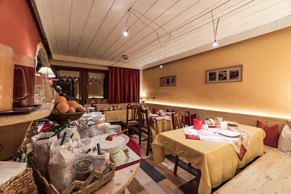 Die Gemeinschaftsräume Bed & Breakfast Ciasa Dorigo