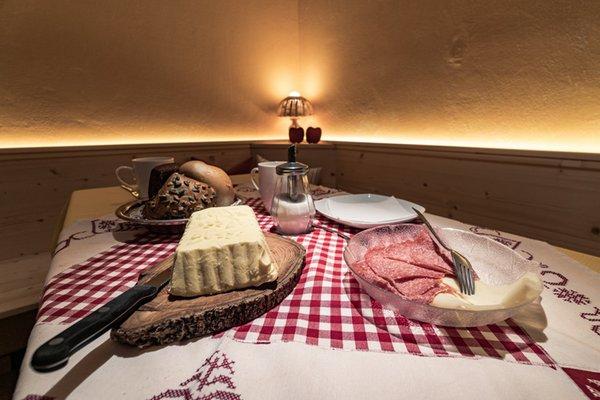 The breakfast Bed & Breakfast Ciasa Dorigo