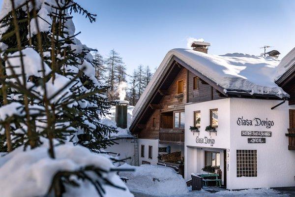 Winter Präsentationsbild Bed & Breakfast Ciasa Dorigo