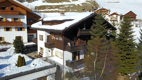 Foto invernale di presentazione Piz da Cir - Residence 2 stelle