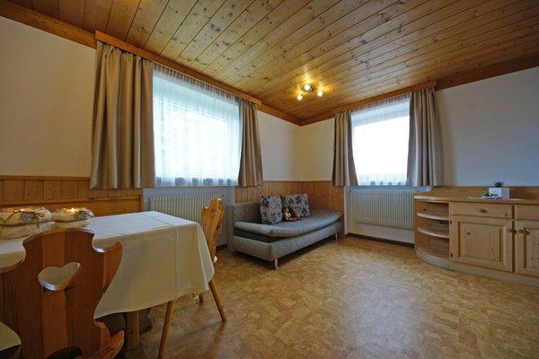 La zona giorno Piz da Cir - Residence 2 stelle